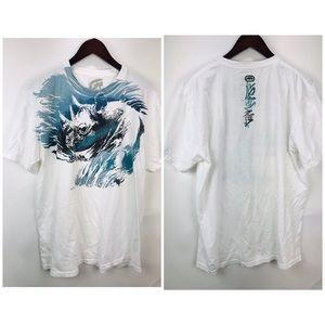 Marc Ecko Rhino T-shirt Graphic Mens Sz L